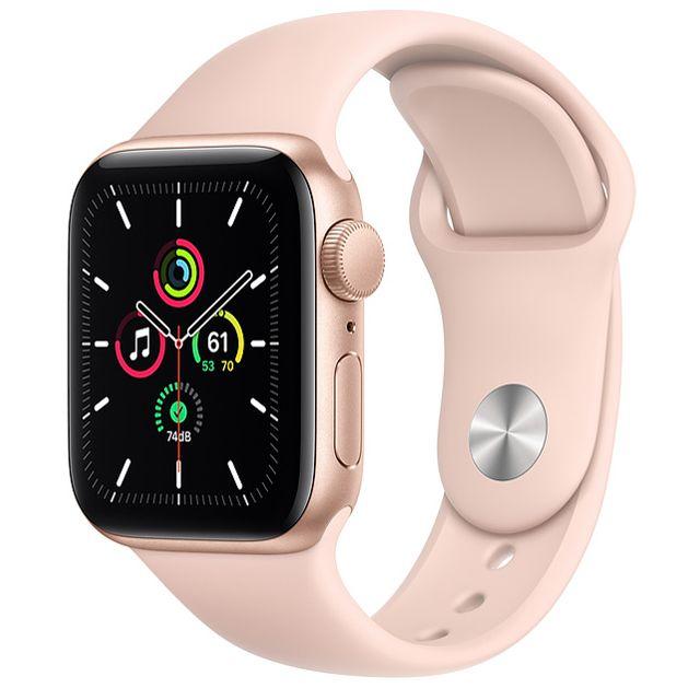 アップル AppleWatch SE 40mm MYDN2J/A ピンクサンドスポーツバンド