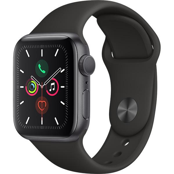 新品 アップル AppleWatch SERIES5 40mm MWV82J/A スペースグレイ GPSモデル アルミニ...