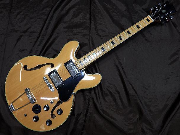 Ibanez セミアコギター NO.2395 1970s