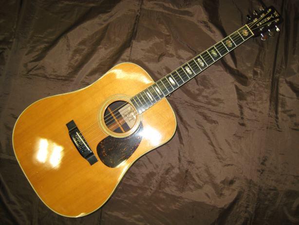 ヤスマ アコースティックギター WG-600