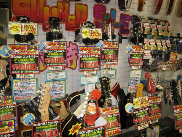 2F楽器コーナー、仙台七夕まつりSALE開催!!