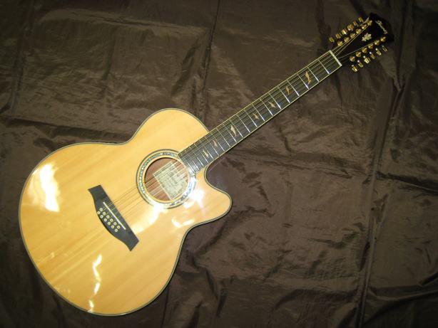 Ibanez 12弦エレアコギター AEL4512SE/NT