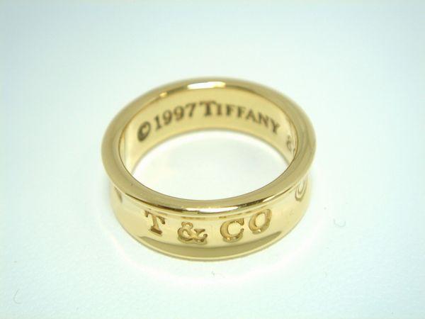 K18 ティファニー リング 1837