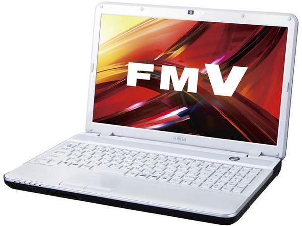 富士通 ノートパソコン FMVA42EW