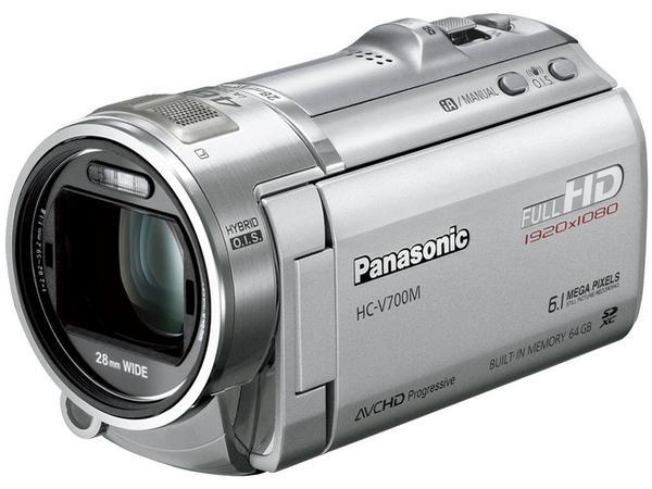 パナソニック ビデオカメラ HC-V700M