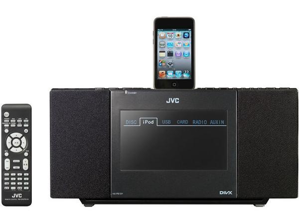 ビクター iPod対応DVDシステム NX-PB15V