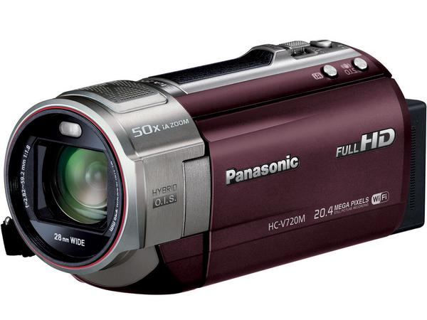 パナソニック ビデオカメラHC-V720M 64GB