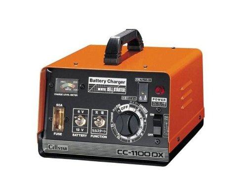 セルスター カーバッテリー充電器CC-1100DX