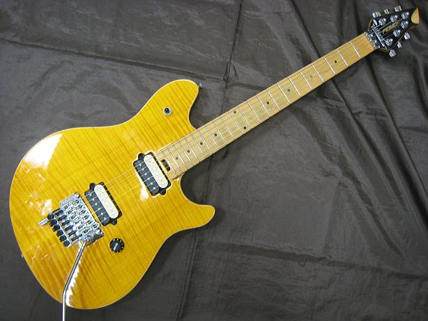 PEAVEY エレキギター wolfgang special/Flame Top Trans Amber