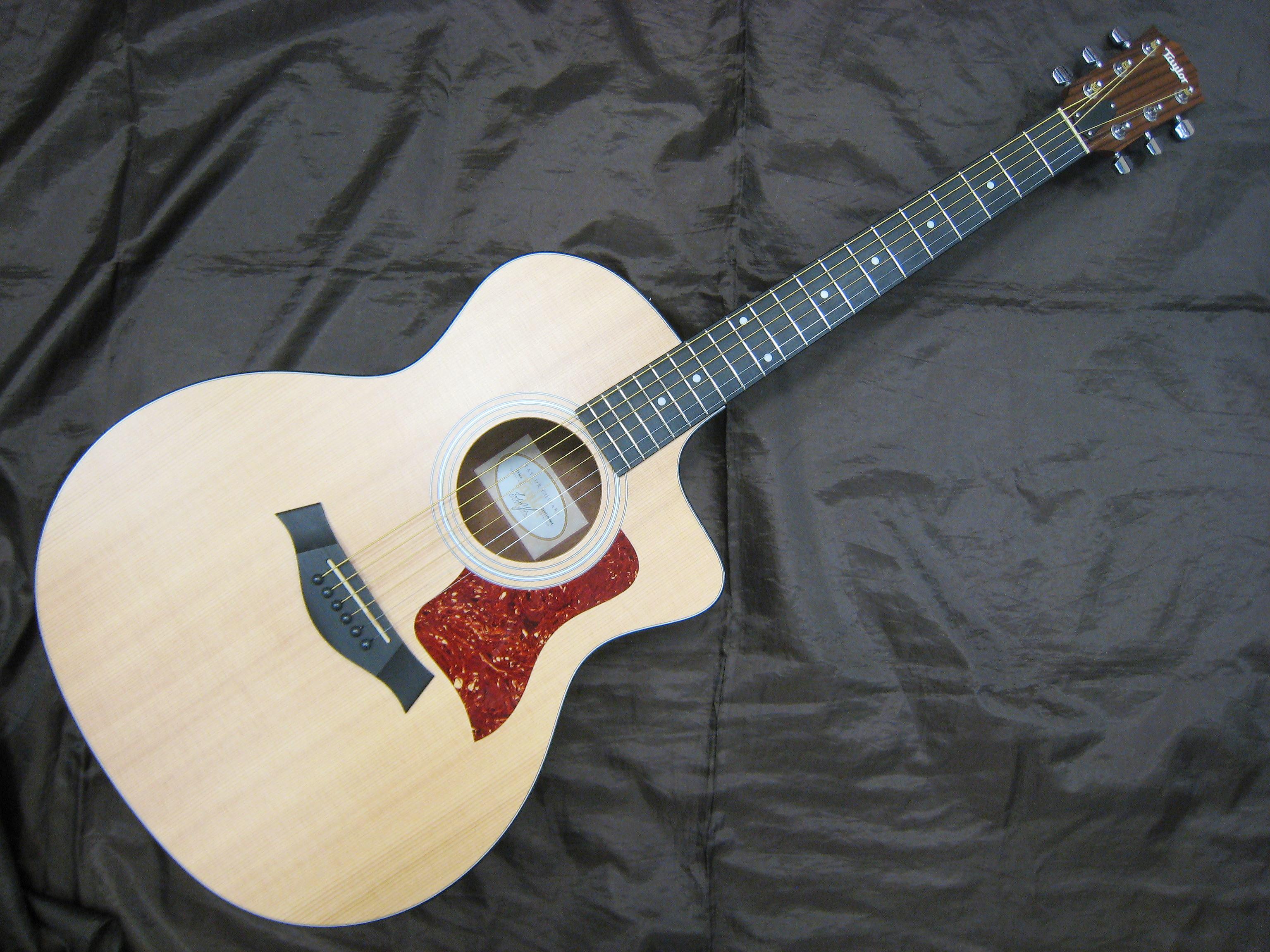 Taylor エレアコギター 114ce