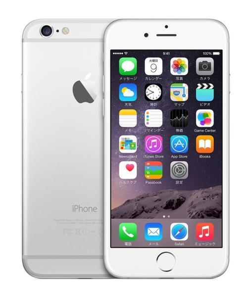 アップル SIMフリー iPhone6 64GB