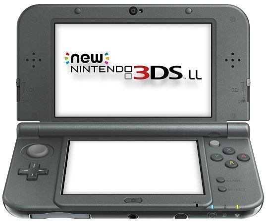 任天堂 new3DS LL メタリックブラック