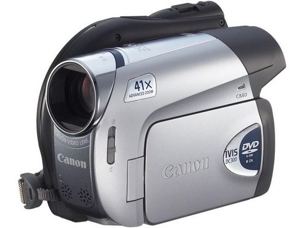 キャノン DVDビデオカメラ iVIS DC300