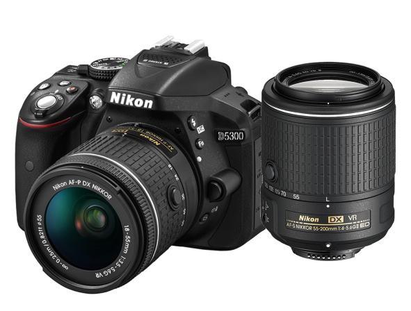 ニコン デジタル一眼 D5300 Wレンズキット