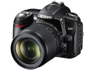 ニコン デジタル一眼レフカメラ D90 レンズキット18-105VR