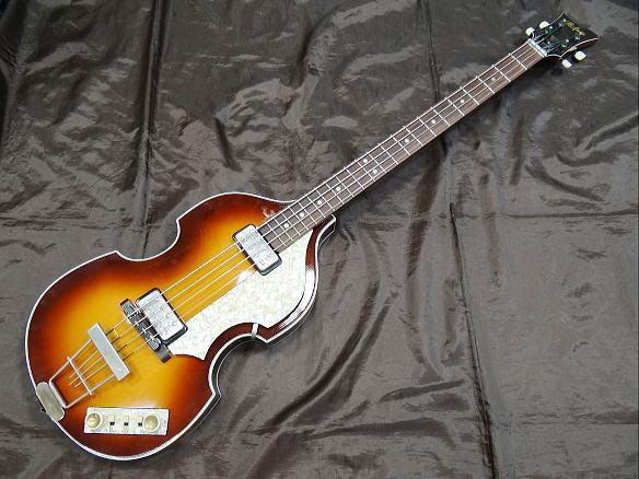 Hofner ベースギター Violin Bass 500/1 62World History Premium
