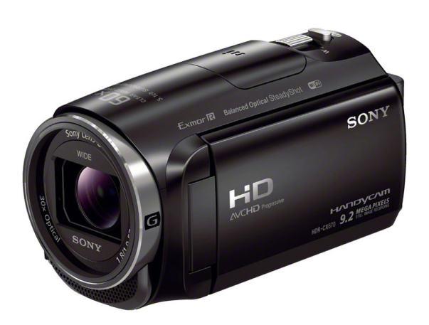 ソニー ハイビジョンビデオカメラ HDR-CX670