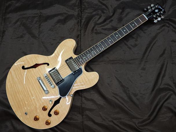 Gibson セミアコギター Memphis ES-335 Dot Figured Top/AN