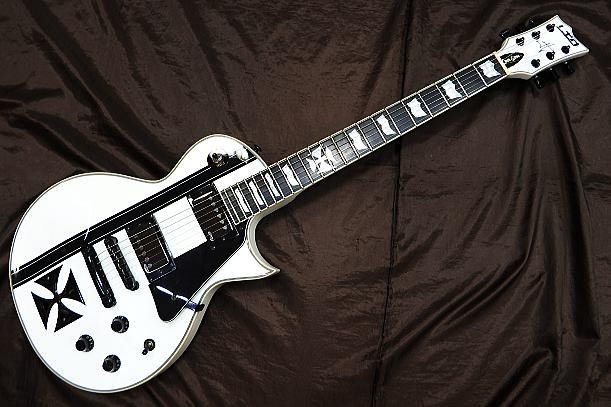 LTD エレキギター IRON CROSS/SW/METALLICA JH Model